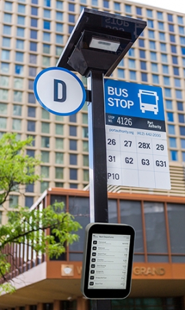 Connectpoint's Digital Bus Stop®