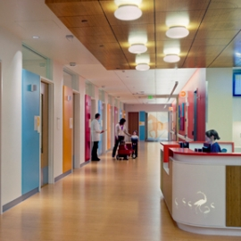 Interior of Randall Children's Hospital