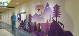 Seattle Children's Hospital art and wayfinding program (Studio SC)