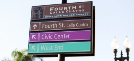 CallisonRTKL Celebrates Six Districts through Santa Ana Wayfinding