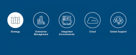 Whitlock firm listing banner with icons for Strategy, Enterprise Management, Integrated Environments, Cloud, and Global Support.