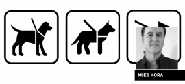 Service Animal—Pet Relief Airport Sign