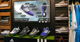 adidas Golf in-store interactives