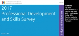 Click to access the 2017 Professional Development and Skills Survey Report