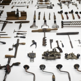 South Street Seaport Museum Tool Exhibit