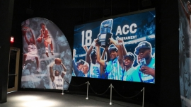 PixelFLEX™ at Carolina Basketball Museum