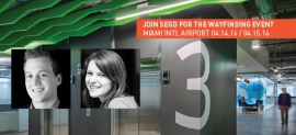 SEGD Wayfinding Event, April 14-15, 2016 with Joe Lawton and Ellen Bean Spurlock, Media Objectives at Valerio Dewalt Train