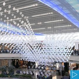 airFIELD installation at Atlanta International Airport (UEBERSEE, Inc.)