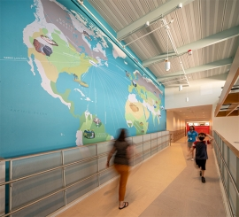 Arrowstreet Designed a Series of Environmental Graphics for Elementary School