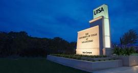 Photo of wayfinding at University of Texas San Antonio