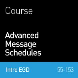 55-153 Advanced Message Schedules