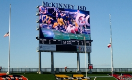 Daktronics Installs Nation's Largest High School Video Display in Texas