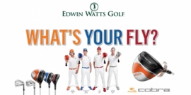 Images of window graphics for Edwin Watts Golf