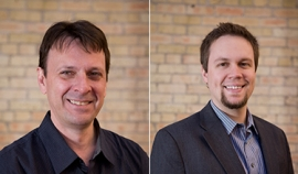 Photos of Jim Baehr and Zach Norman