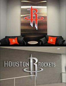 Photo of signage for Houston Rockets facility