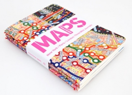 Cover of Maps by Paula Scher
