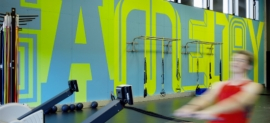 Adidas gym by Buro Uebele