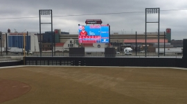 Daktronics Installs at Impact Field