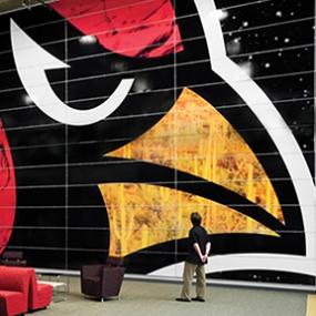 Arizona Cardinals Stadium, Arizona Sports & Tourism Authority, Pentagram, Entro Communications