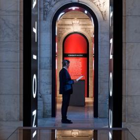 Celebrating 100 Years, New York Public Library, Pentagram Design