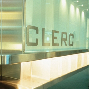 Clerc Trade Show Exhibit, Pentagram