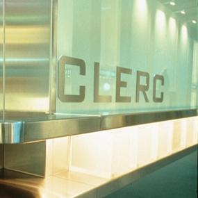 Clerc Trade Show Exhibit, Pentagram