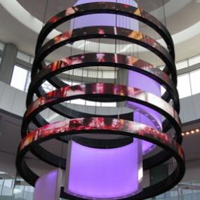 Dubai Mall Catwalk, Emaar, Square Peg Design