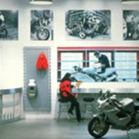 Ducati Showroom Prototype, Gensler