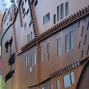 Monastery Street Park, South Side Slopes Neighborhood Association, Loysen + Kreuthmeier Architects