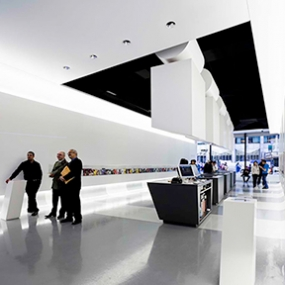 The Official NYC Information Center, NYC & Company, Local Projects, WXY Architecture