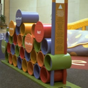 Paradise Valley Mall Children's Playcourt, Westcor Partners, Thinking Caps