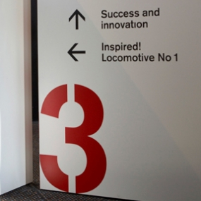Powerhouse Museum Wayfinding and Graphics, Frost Design
