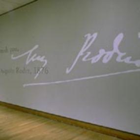 Rodin and Michelangelo, Philadelphia Museum of Art, Susan Maxman Architects, Willie Fetchko Graphic Design