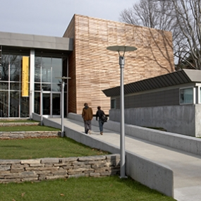 Sarah Lawrence College, Polshek Partnership Architects, Poulin + Morris