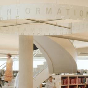 Salt Lake City Public Library, Pentagram