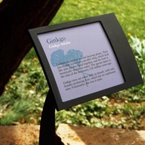 Tyler Arboretum Signage, Cloud Gehshan Associates