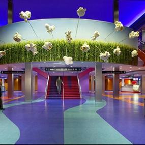 Universal Studios AMC Cinema Graphics, Universal Studios Hollywood, Sussman/Prejza & Company