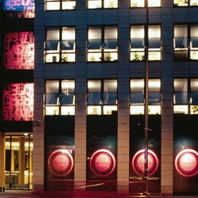 VEAG Media Facade, PLEX GmbH
