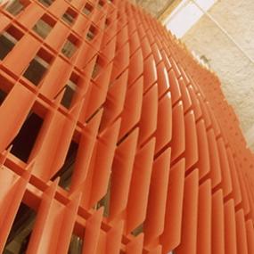 Wattis Institute Entry Facade, California College of the Arts, Thom Faulders/Beige Design