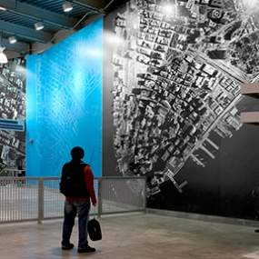 Temporary WTC Path Station, The Port Authority of New York and New Jersey, Pentagram