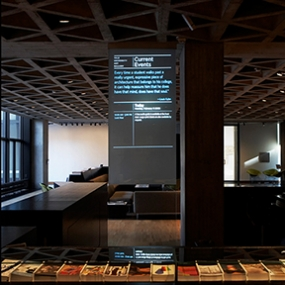Yale University Art Gallery Signage, Open