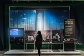 "C&G Partners' ""Comeback Season: Sports After 9/11"" Exhibition Design"