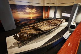 Photo of Model La Belle Shipwreck