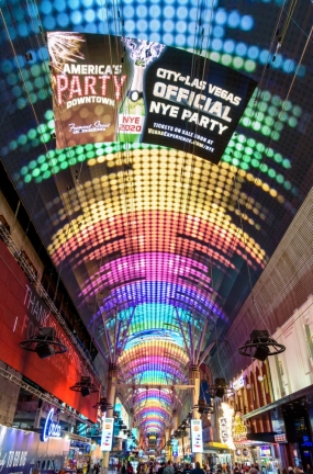 Watchfire Signs Completes Las Vegas Fremont Street Experience Renovation