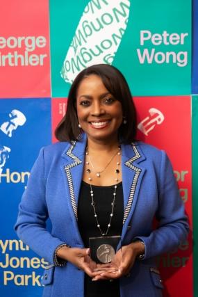 Cynthia Jones Parks Honored as AIGA Atlanta Fellow (image: portrait)