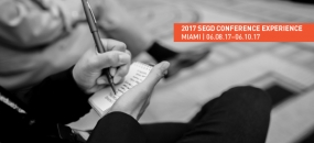 Get the Most Out of Your 2017 SEGD Conference Experience