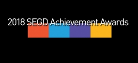 2018 SEGD Fellow and Achievement Award Winners Announced
