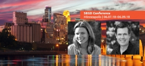 Join 2018 SEGD Conference Experience Minneapolis Co-Chairs Gretty Fry and Gary Stemler, June 7–9.