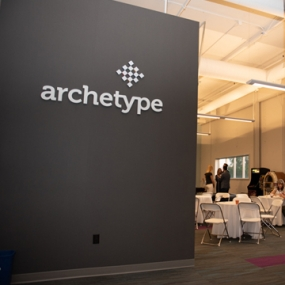 Archetype signage and event