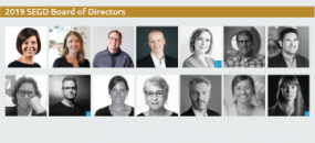 SEGD Welcomes 2020 Board of Directors